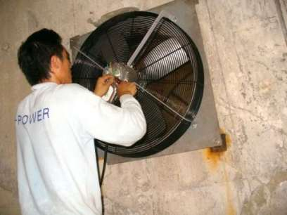 更換掛牆式抽風扇 Replacing Wall-Mounted Ventilation Fan